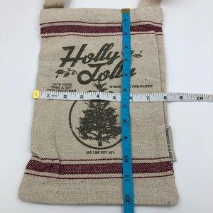 VINTAGE SACK Holly Jolly Xmas Primitives by Kathy